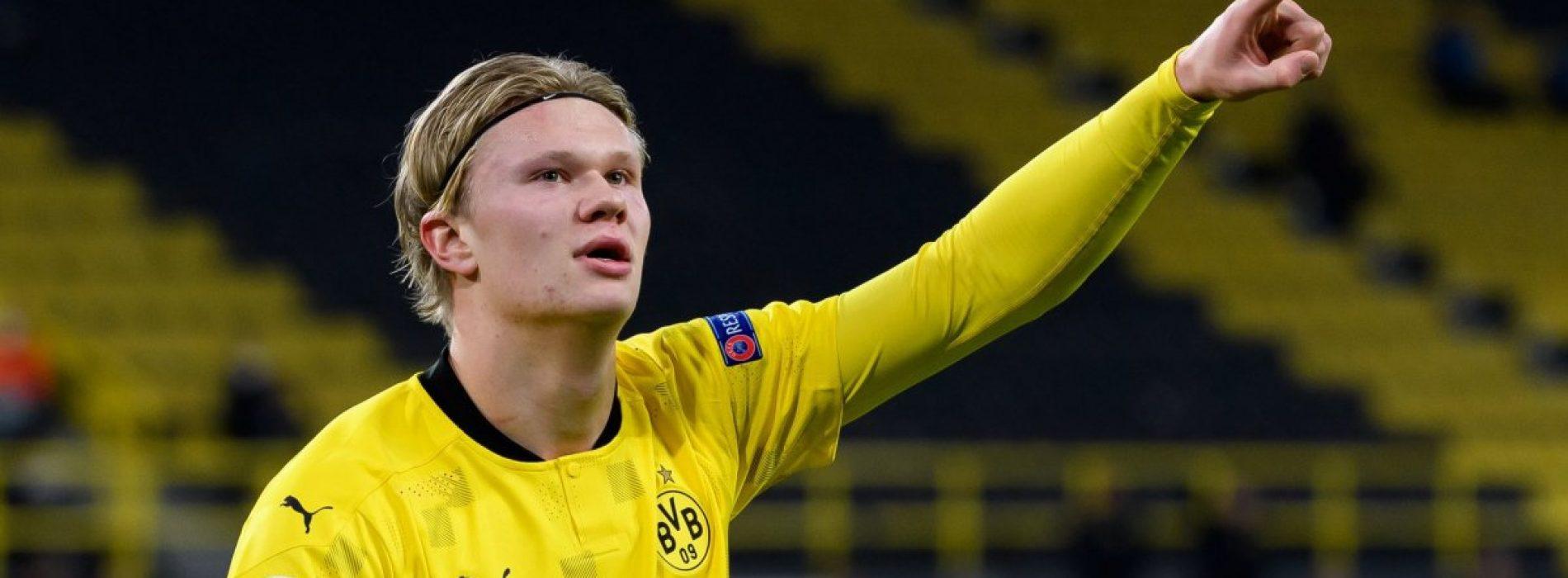 """Borussia Dortmund senti Haaland: """"Penso solo a fare gol"""""""