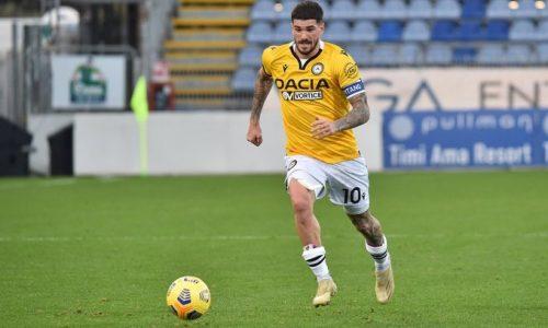 """Udinese de Paul: """"Fa piacere che Conte mi osservi, ma ora non ci penso"""""""